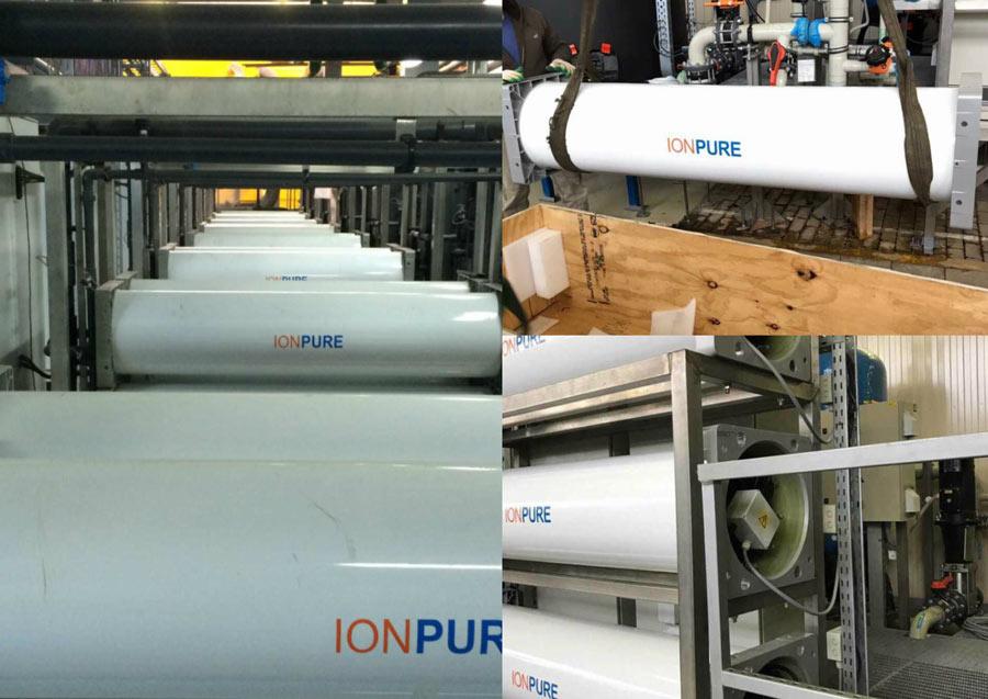 Ionpure elektrodionizacijos moduliai vandens gerinimo įrengimams