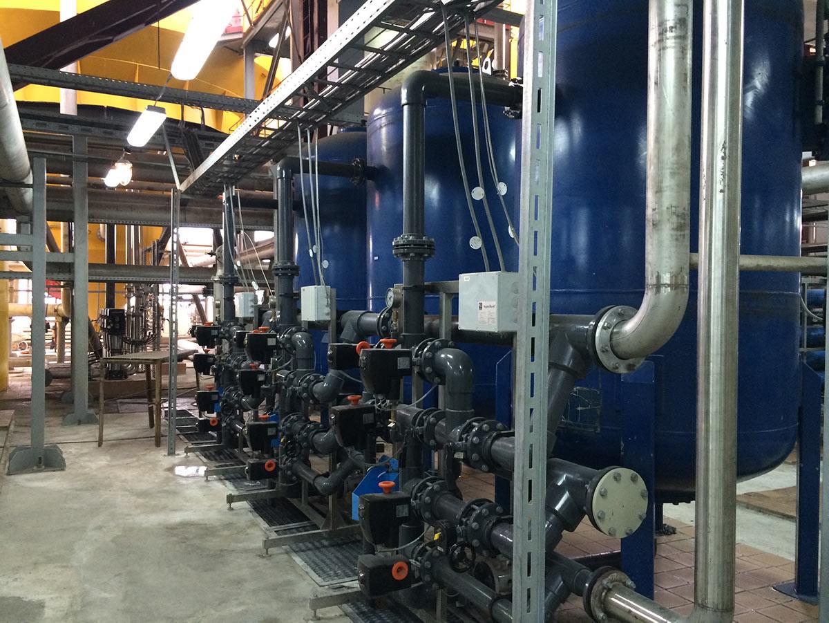 Process Pro atlikti darbai - pramoninės vandens gerinimo sistemos